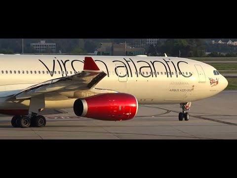 (HD) 90+ Minutes of Hartsfield Jackson Atlanta International Airport Terminal & Plane Spotting