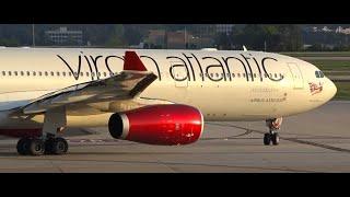 (HD) 90+ Minutes of Hartsfield Jackson Atlanta International Airport Terminal & Plane Spotting
