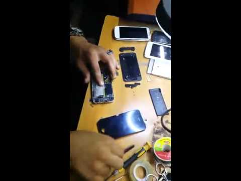 تصليح شاشة Iphone 4 Youtube