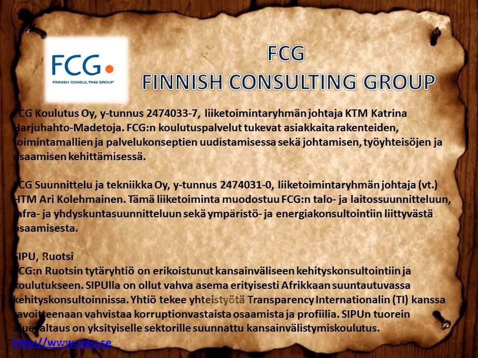 fcg suunnittelu ja tekniikka oy