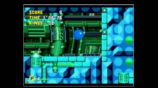 Sonic CD JP:Tidal Tempest Zone Good Future