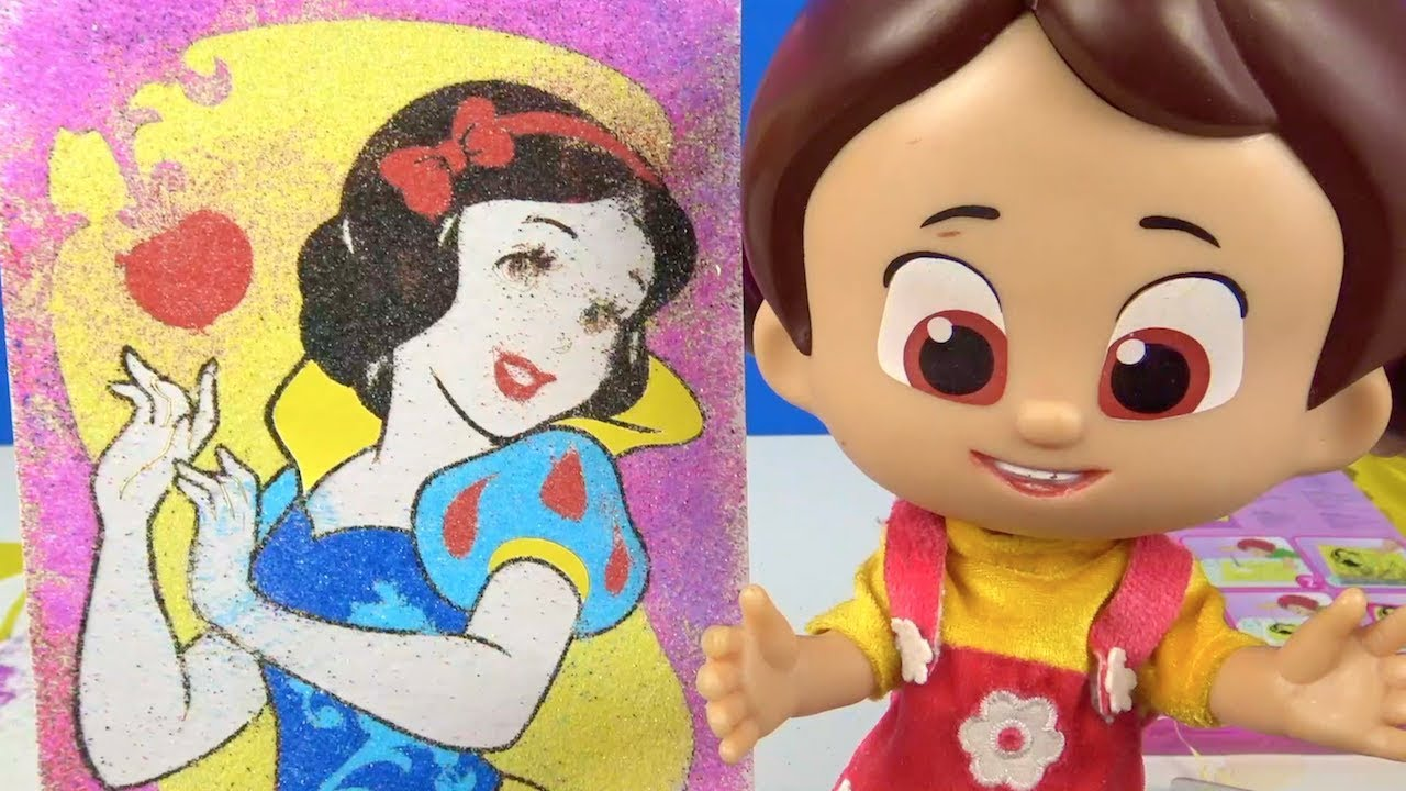 Niloya Kum Boyama Aktivite Seti Aciyor Prenses Kum Boyama