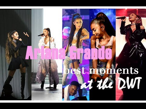 Ariana Grande - BEST MOMENTS at the DWT