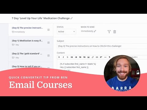How to increase your open rates with a 7 day email course in ConvertKit