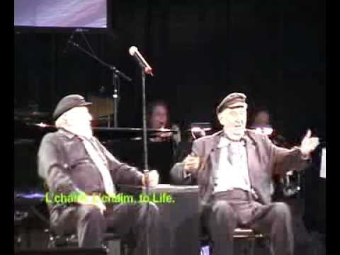 Theo Bikel and Fyvush Finkel - The National Yiddish Theatre - Folksbienes Annual Gala 2008