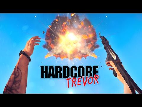 Hardcore Trevor -  Hardcore Henry Parody   GTA 5 Short Film