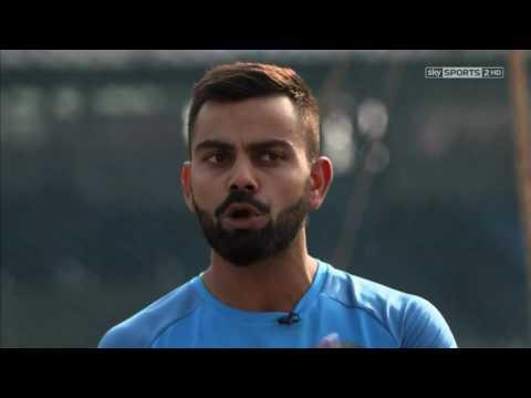 Batting Masterclass   Virat Kohli's batting demo with Nasser Hussain