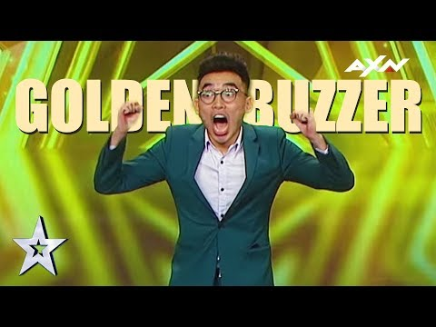 Magician Act TK Jiang's Golden Buzzer Audition! | Asia's Got