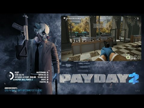 PayDay 2 | Diamond Store | Solo, Normal, Stealth [HUN MAGYAR