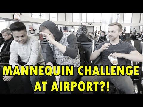 CLOUD9 AIRPORT MANNEQUIN CHALLENGE (IEM Oakland Pt.1)