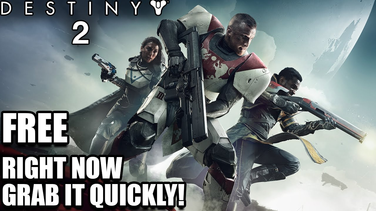 is destiny 2 free right now