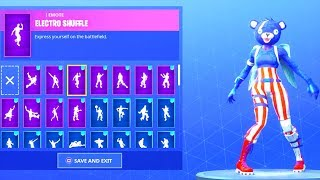 (NEW) FIREWORKS TEAM LEADER SKIN with 20+ DANCE EMOTES! Fortnite Battle Royale