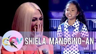 "Shiela delivers her ""hugot-filled"" nutrition poem 