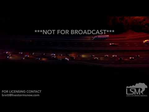 9-8-2017 Forsyth, GA - Aerial Video I-75 Evacuees