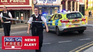 Minor Explosion at London Subway Station - LIVE BREAKING NEWS COVERAGE