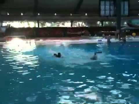 Swimming at Adelaide aquatic centre