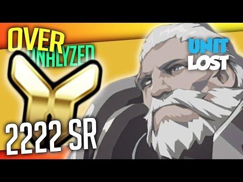 Overwatch Coaching - Reinhardt - Gold 2222 SR - [OverAnalyzed]