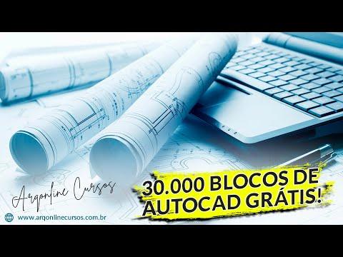 Download 30.000 Blocos De AutoCAD Gratuito