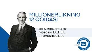 Boylik Haqidagi 12 Qoida. John Rockefeller