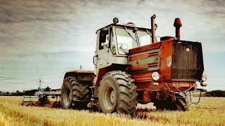 Uprawa na wielką skalę PGR Wysocko Kirovets K700 i T150  Lemken Smaragd + Kverneland DTA 6.3