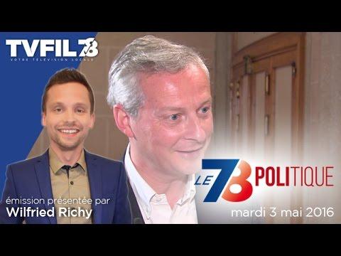 Le 7/8 Politique – Emission du mardi 3 mai 2016