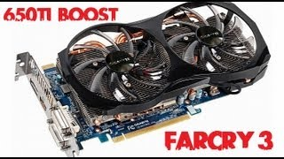 Gigabyte Gtx 650ti Boost OC 2gb - Farcry3 1080P