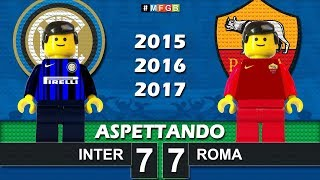 Road To: Inter - Roma • Serie A 2015 2016 2017 • Lego Calcio Film Goals Highlights