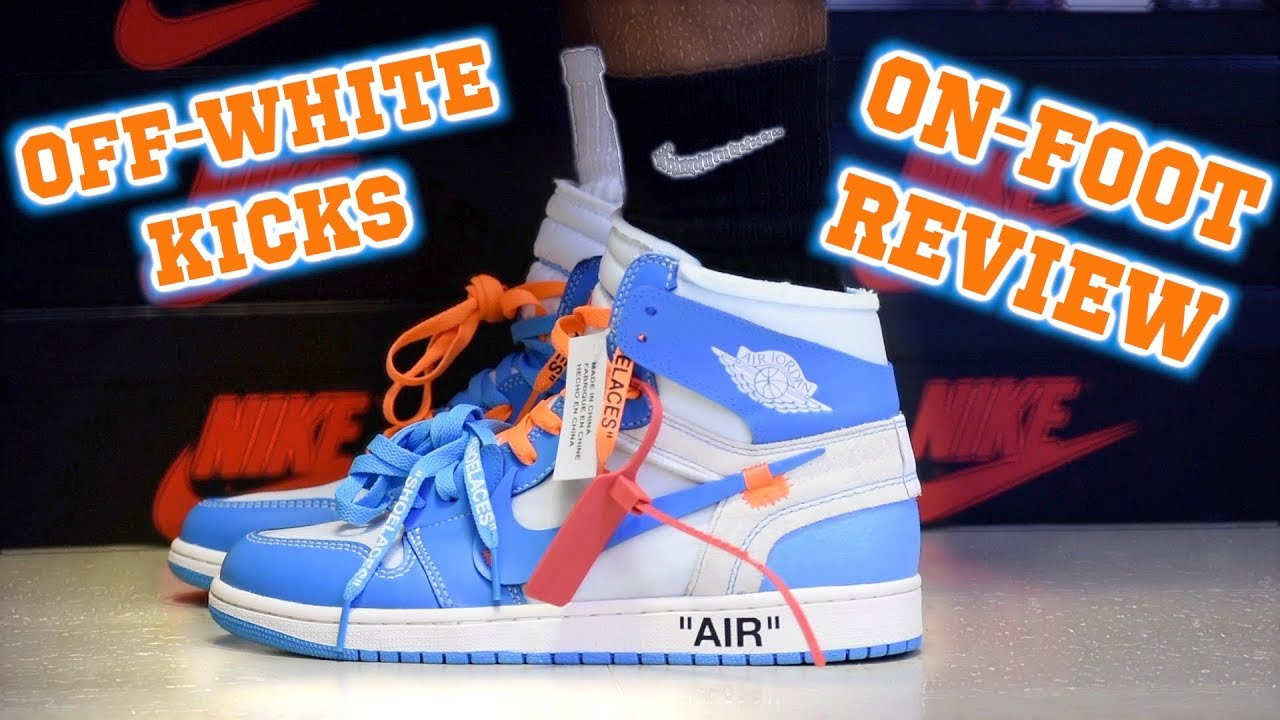 3214dbedba18 Jordan 1 Retro High OG NRG x Off-White UNC