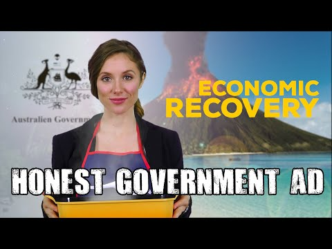 Honest Government Ad | Gas-led Recovery