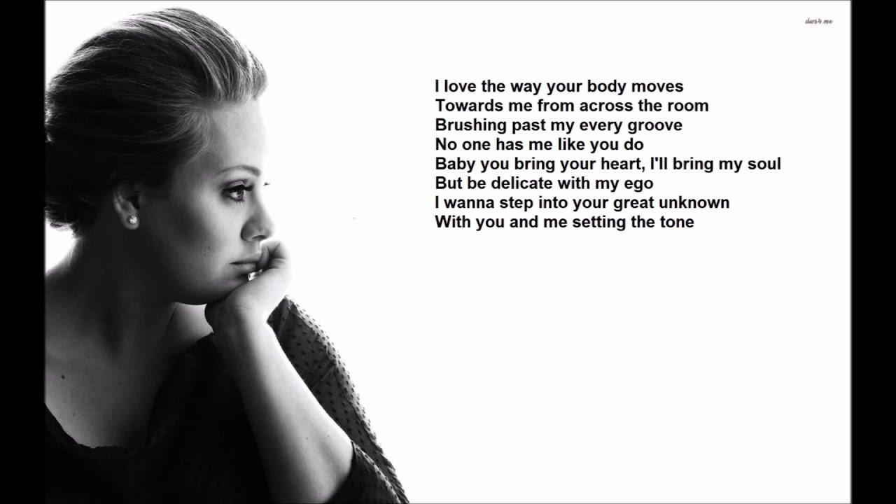 Adele - I Miss You - Lyrics - YouTube