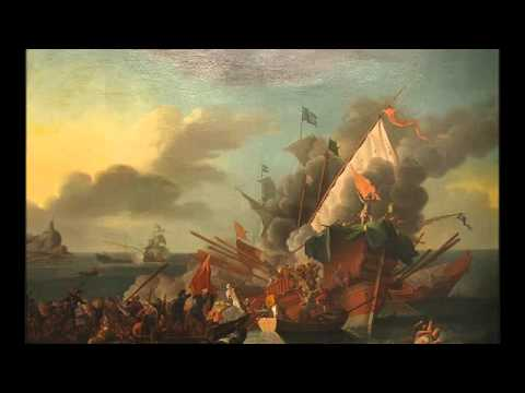 The Ottoman Naval Defeat At The  Battle Of Lepanto