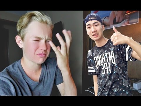 Thumbnail: RICEGUM ROASTED ME! ( REACTION )