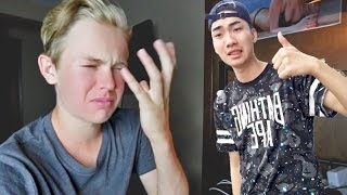 RICEGUM ROASTED ME! ( REACTION )