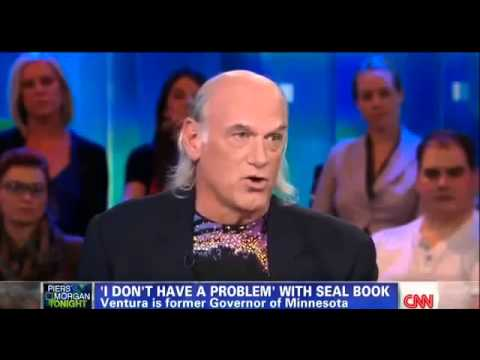 Piers Morgan Interviews Jesse Ventura on Gun Control - CNN