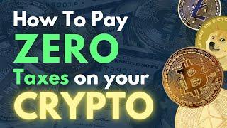 Pay ZERO Taxes on Your Crypto Gains with a CRT | Mark J Kohler