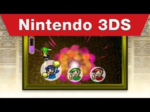 Nintendo 3DS - The Legend of Zelda: Tri Force Heroes E3 2015 Trailer