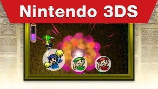Nintendo 3DS - The Legend of Zelda: Tri Force Heroes E3 2015 Trailer