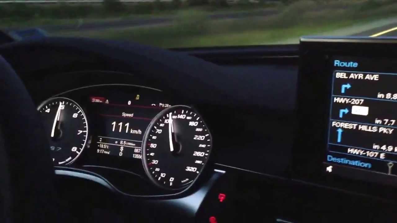 Audi S7 Launch Control 0 100 In 4 331 Digital