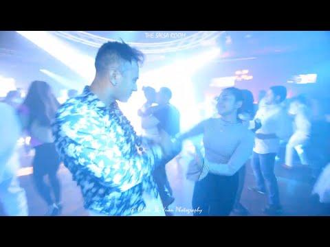 STEPHENSON ELI & MARINA Bachata Social Dance At THE SALSA ROOM