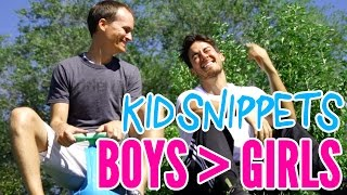 "Video Kid Snippets: ""Boys are Better than Girls"" (Imagined by Kids) download MP3, 3GP, MP4, WEBM, AVI, FLV Desember 2017"