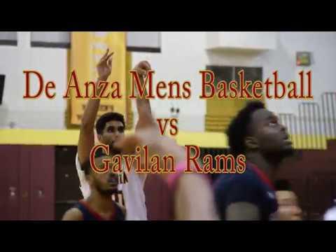 De Anza Men's Basketball vs Gavilan - February 2, 2018