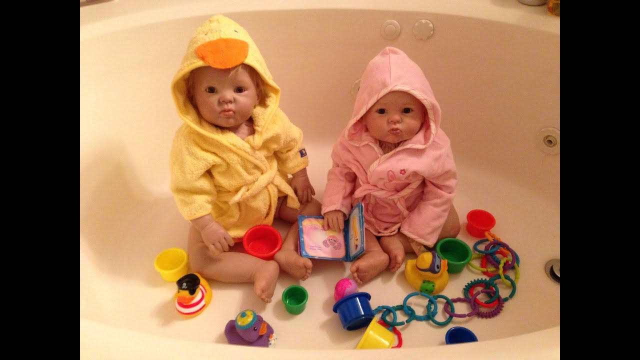 Day in the Life of Reborn Toddler Twins - YouTube