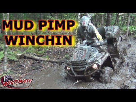 TUG HILL PART 2! MUD PIMP WINCHING. MORE FUN IN THE MUD!