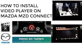How To Install Video Player on MAZDA MZD CONNECT screenshot 2