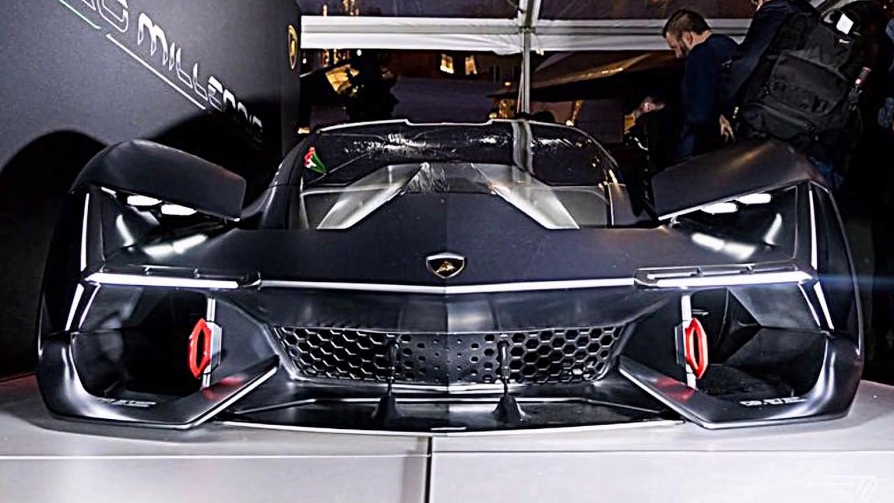Lamborghini Terzo Millennio 2019 Youtube