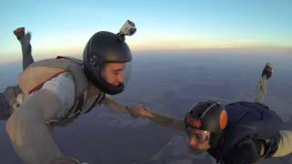Hybrid 3 Way & Train Exit Skydive Cuautla