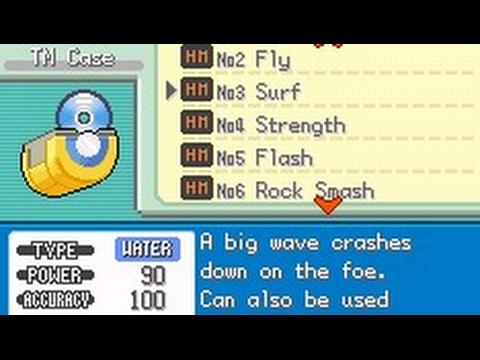 Pokemon red chapter HM cheat (All) by Pokeguy vansh