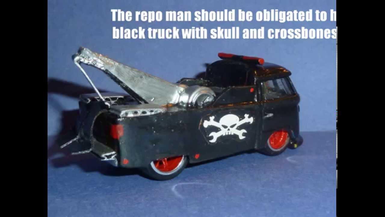 Custom Hot Wheels\' Kool Kombi Tow Truck - YouTube