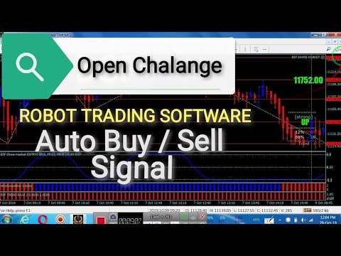 Robot // Auto Buy Sell signal Software 99.99% Profit With Challenge ! 2020 / Hindi
