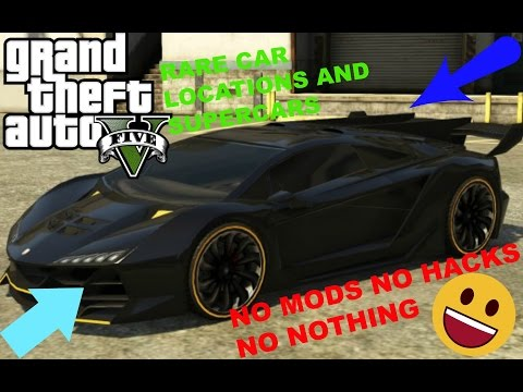 HOW To Find RARE SPORTS CARS In GTA 5 Story Mode 2020!!!..........